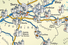 How to go to the Valentine' House in Chambourg-sur-Indre
